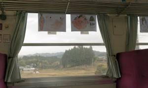 【車窓から見た沿線風景部門】 子供たちの思い